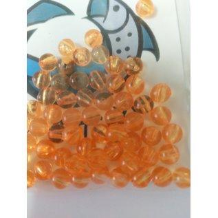 NF&T Pro Pack Beads Irridecent Orange Base 6mm 60
