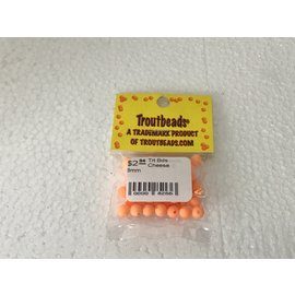 Troutbeads.com Trout Beads Brand Cheese 6mm