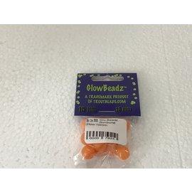 Troutbeads.com Glo Beadz Sunburst Glow 10mm