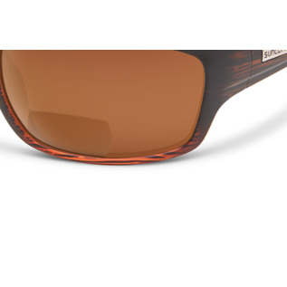 SunCloud COVER 2.50 BURNISHED BROWN POLARIZED BROWN