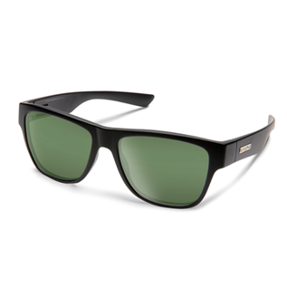 SunCloud REDONDO MATTE BLACK POLARIZED GRAY GREEN