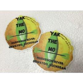 NF&T Yak the Mo Sticker
