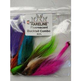 Hareline Bucktail Combo, Florescent