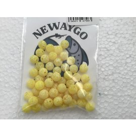 NF&T Pro Pack Beads Bright YellowUV 8mm