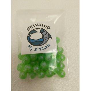 NF&T ProPk Beads FL. Green Purple UV 10mm