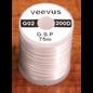 Hareline 200 Denier Gsp Veevus #377 White