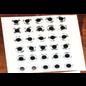 Hareline Adhesive Back Eyes