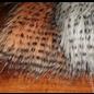 Hareline Barred Pseudo Hair #281 Peach