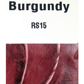 Hareline Rabbit Strips Burgandy