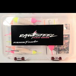 FishinFreekz Raw Steel Float Box