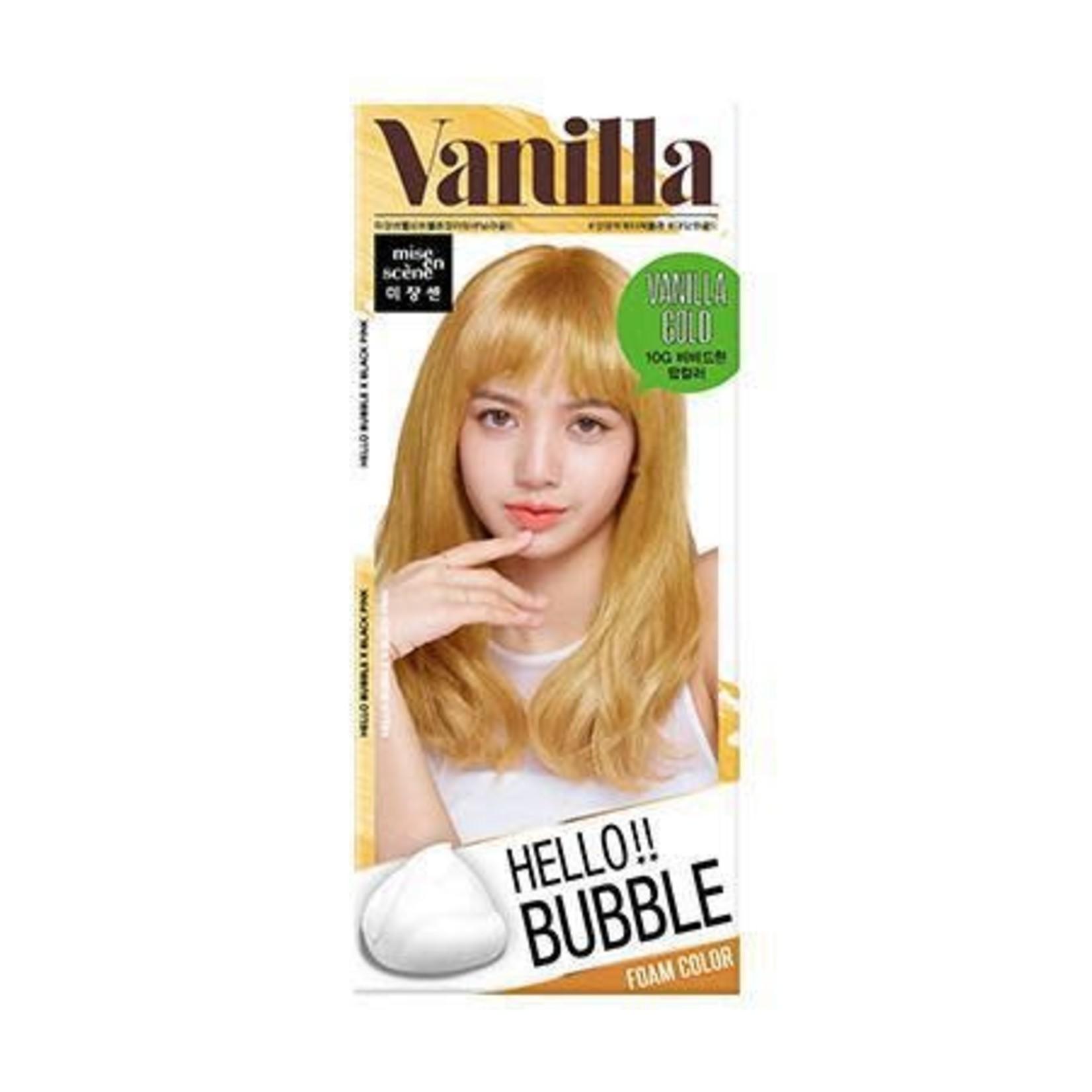 Mise En Scene Hello Bubble Hair Foam Color