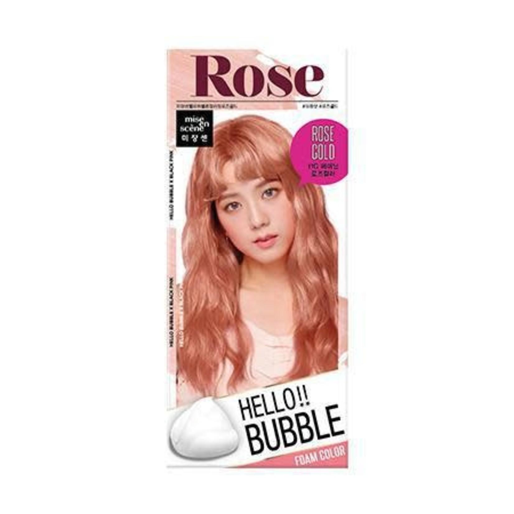 Mise En Scene Mise En Scene Hello Bubble Hair Foam Color 11RG Rose Gold