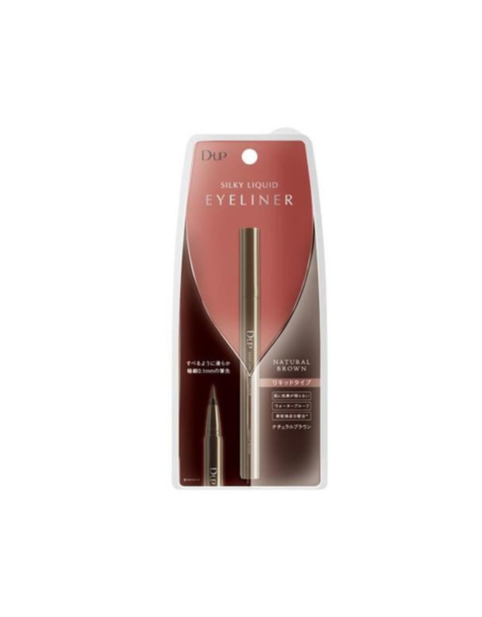 DUP Dup Silky Liquid Eyeliner WP Natural Brown New