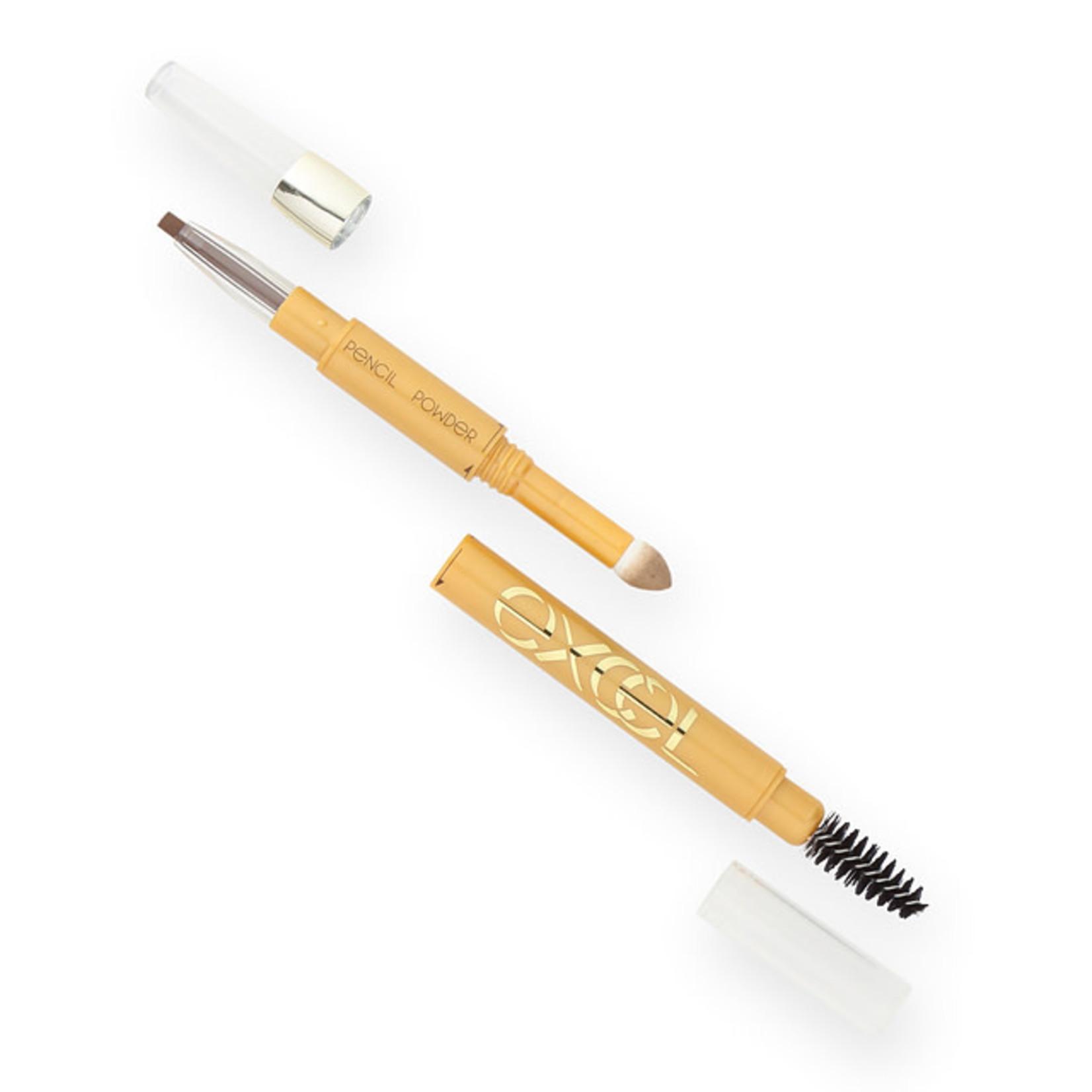 Sana Excel Powder & Pencil Eyebrow EX PD02 Camel Brown