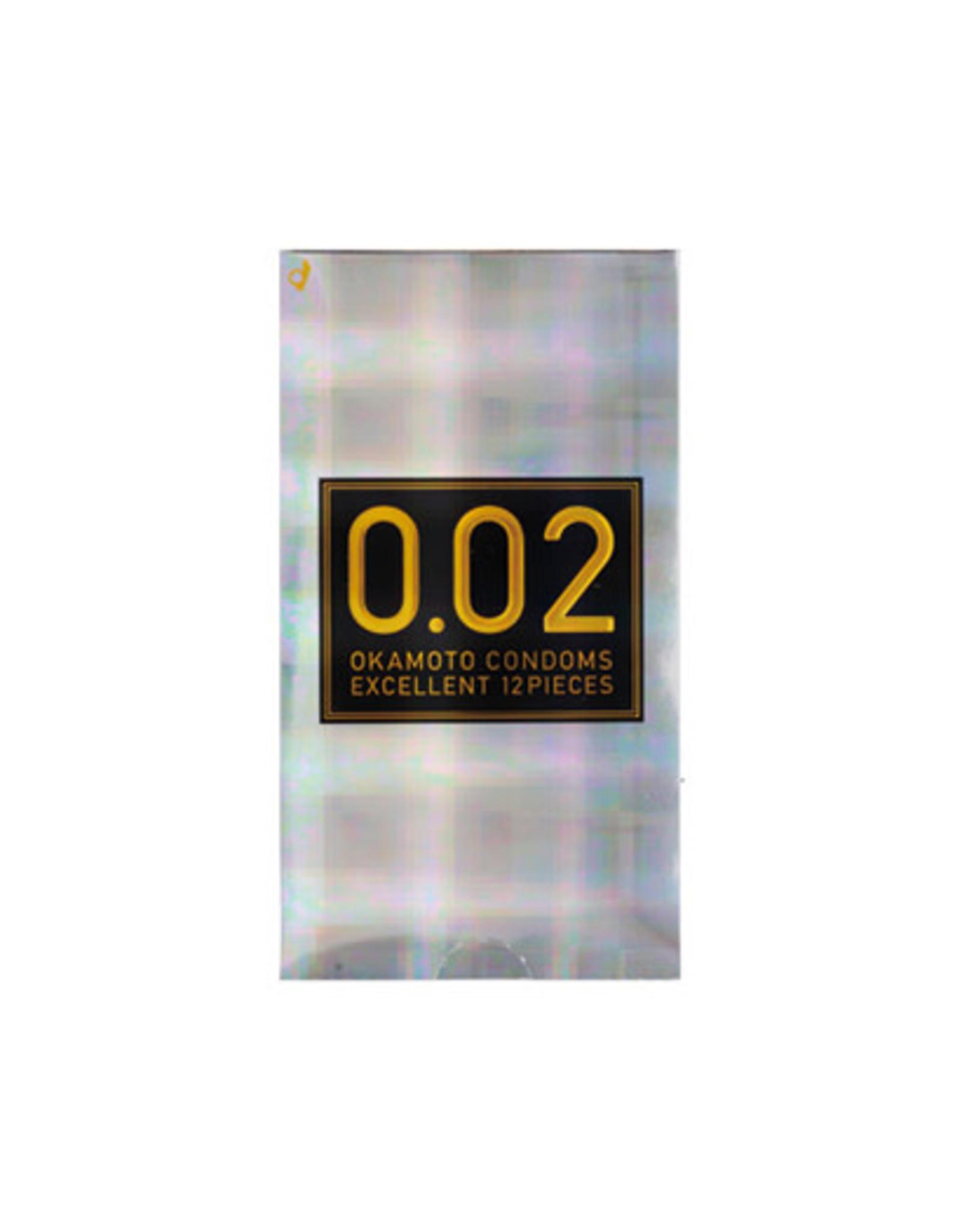 Okamoto Okamoto 002 Condom Excellent 12pcs