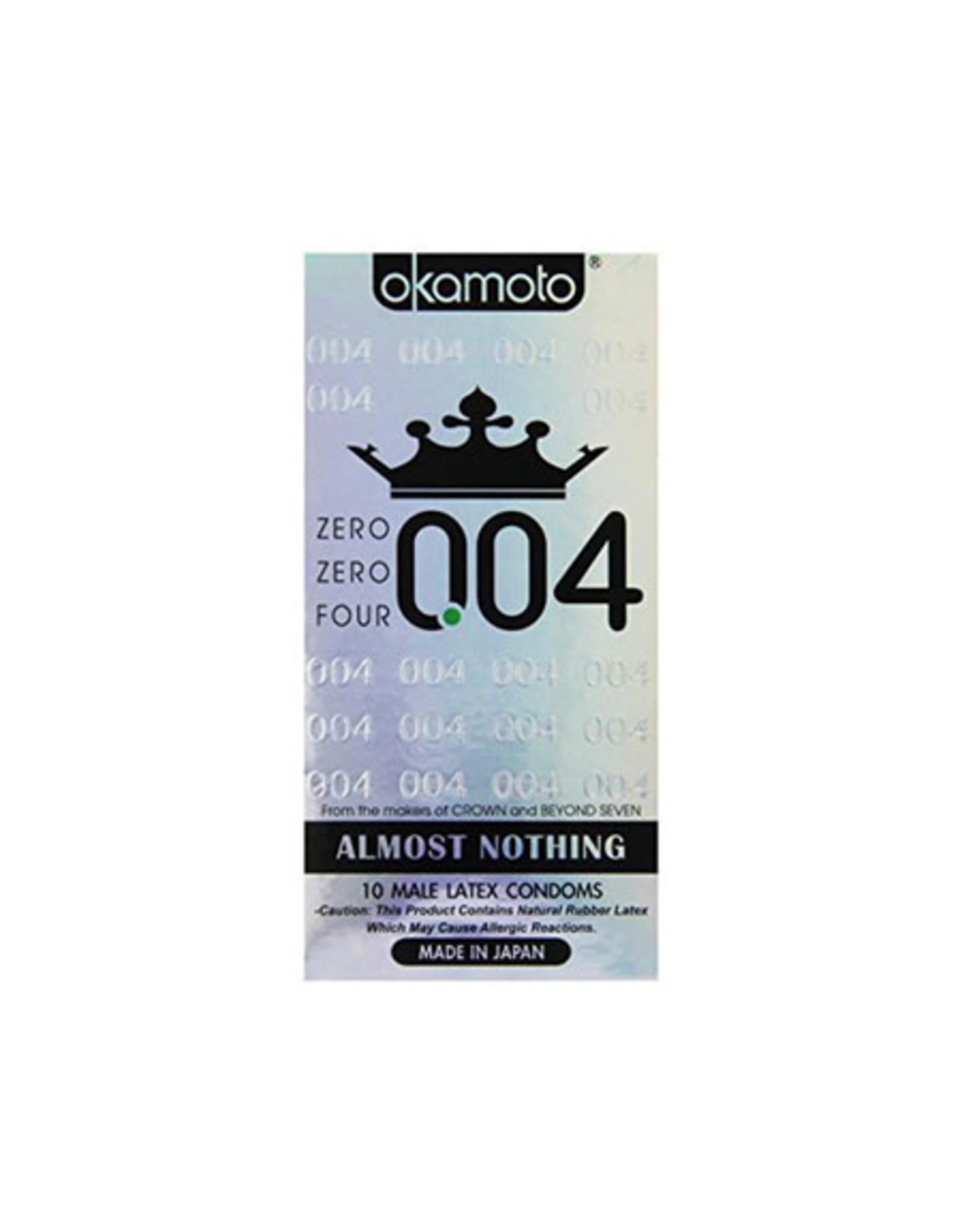 Okamoto Okamoto 0.04 Condom 10pcs