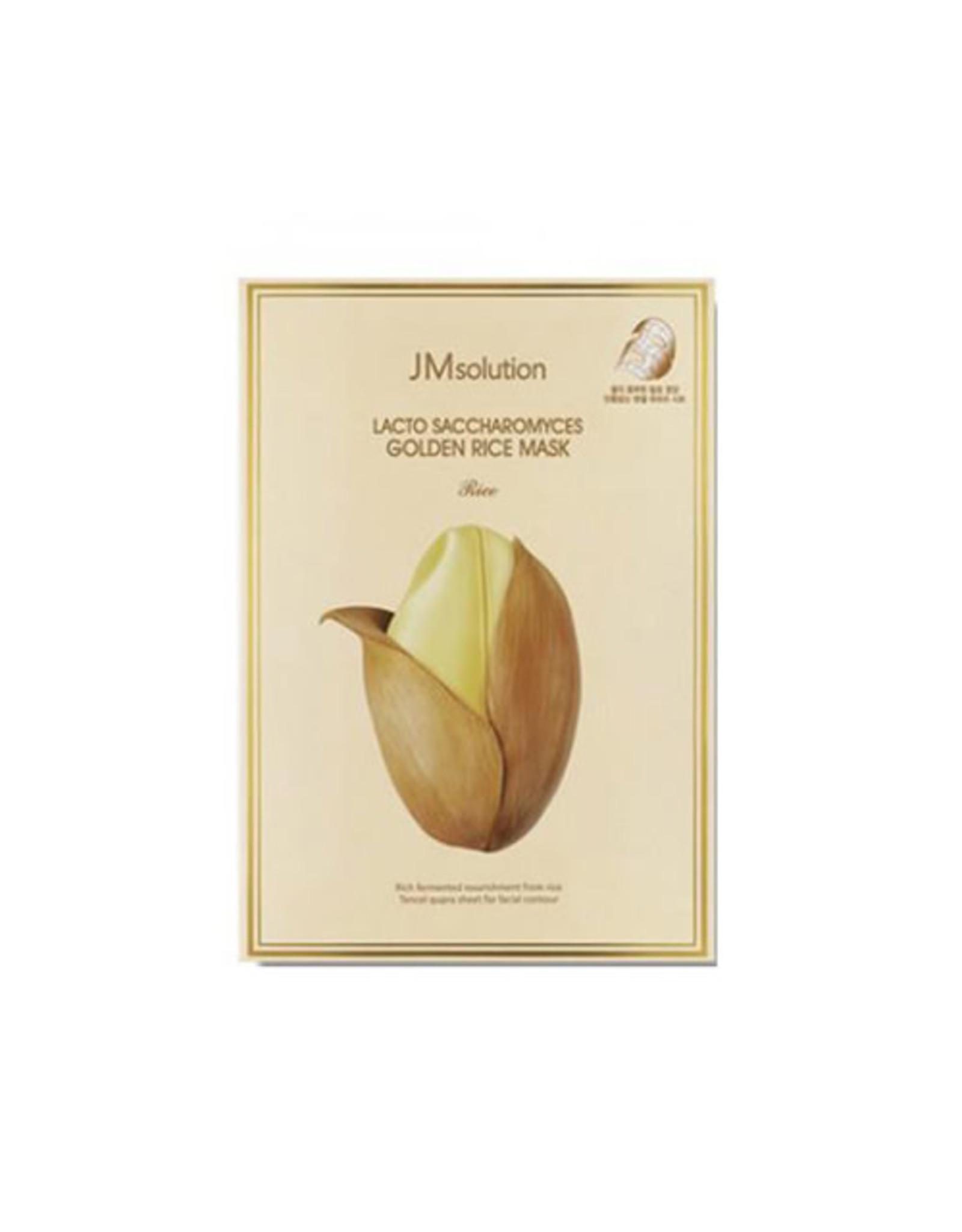 JM Solution JM Solution Lacto Saccharomyces Golden Rice Mask