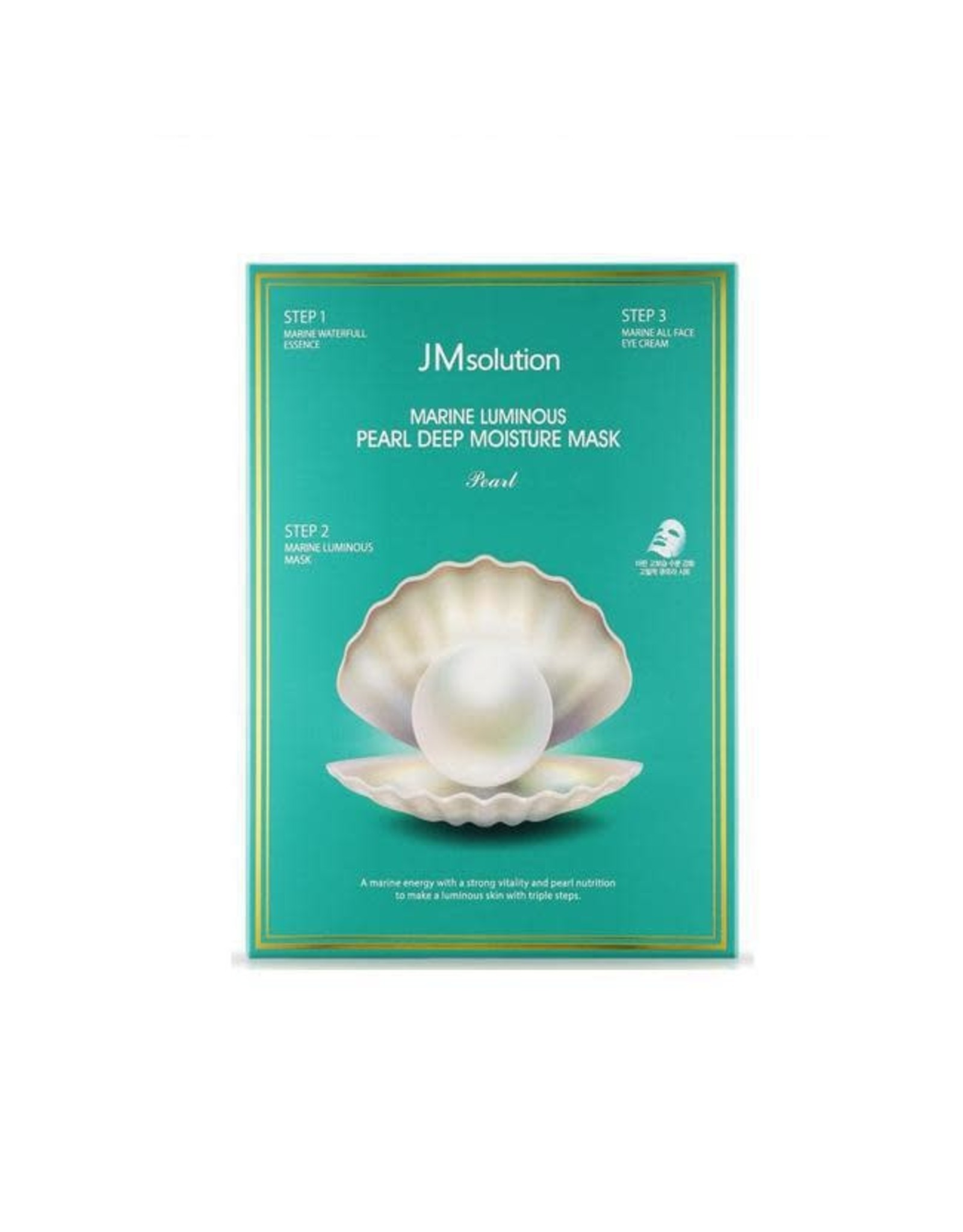 JM Solution JM Solution Marine Luminous Pearl Deep Moisture Mask