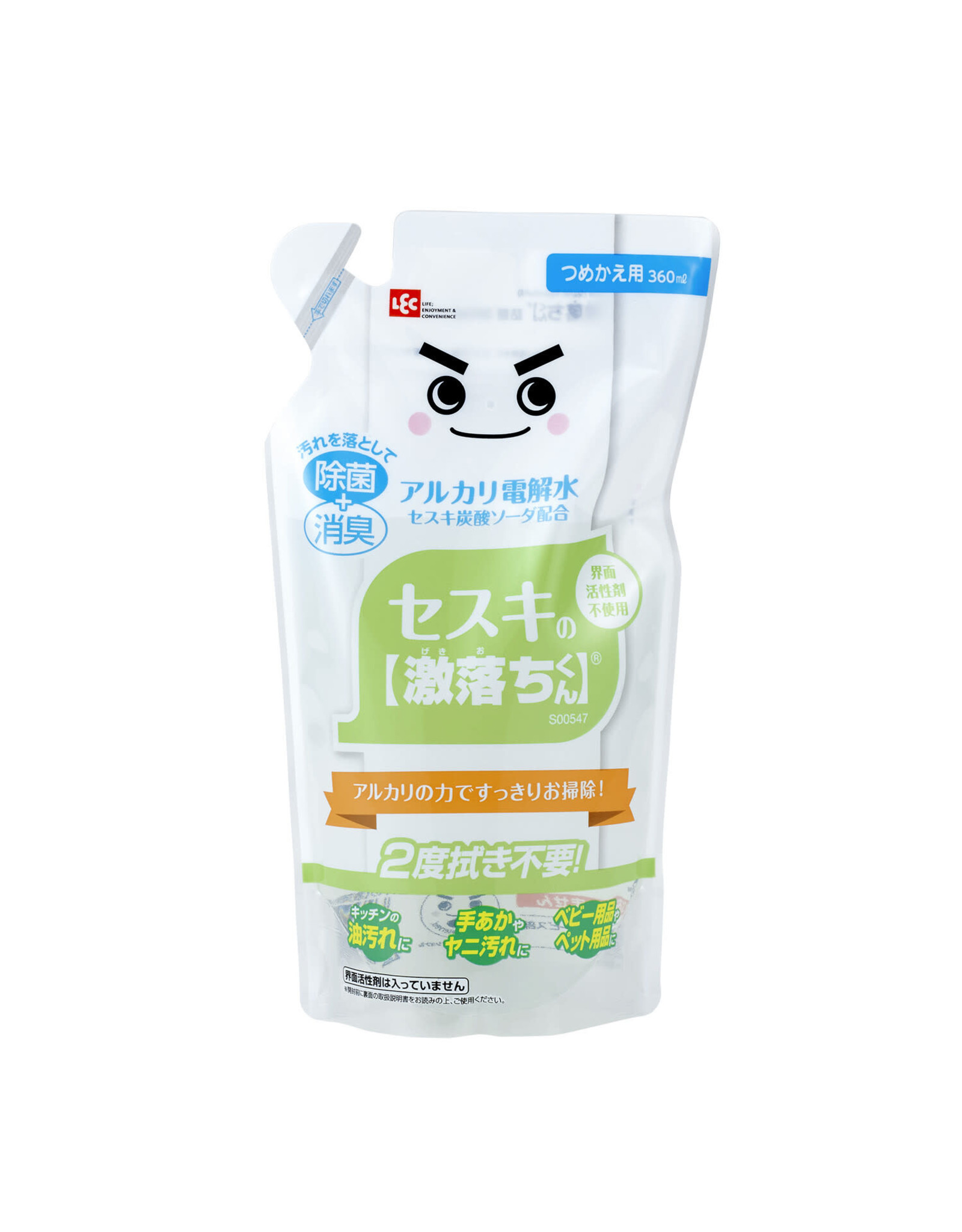 LEC LEC Gekiochi Sesqui Cleaning Liquid Refill 360ml
