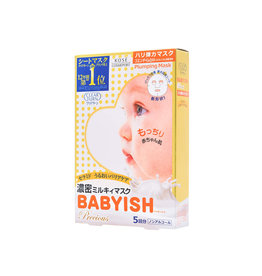 Kose Kose Clear Turn Babyish Precious Oil In Milky Mask