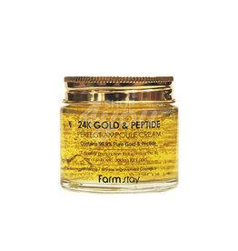 FarmStay Farmstay 24K Gold & Petide Ampoule Cream 80ml