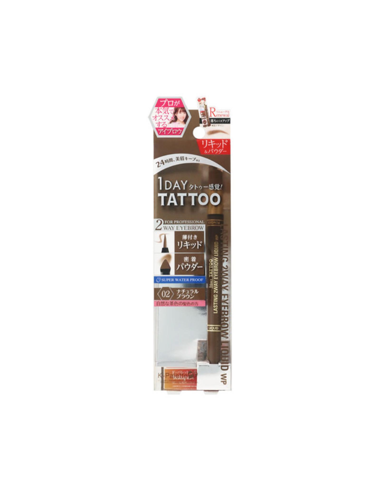 K-Palette K-Palette Lasting 2 Way Eyebrow Liquid WP #02