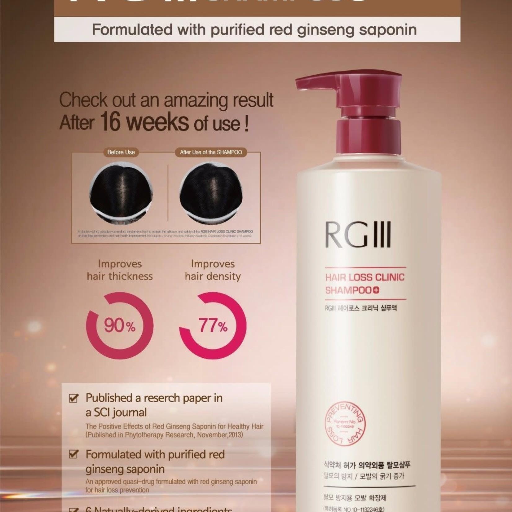 RG III RG III Hair Loss Clinic Shampoo