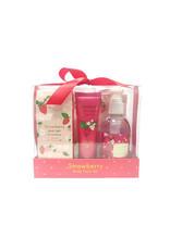 Charley Charley Strawberry Bodycare Gift Set - Limited