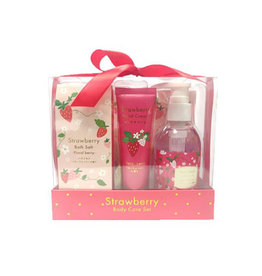 Charley Charley Strawberry Bodycare Gift Set - Limited