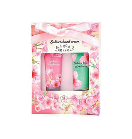 Honyaradoh Cherry Blossoms Hand Cream 2pcs - Limited