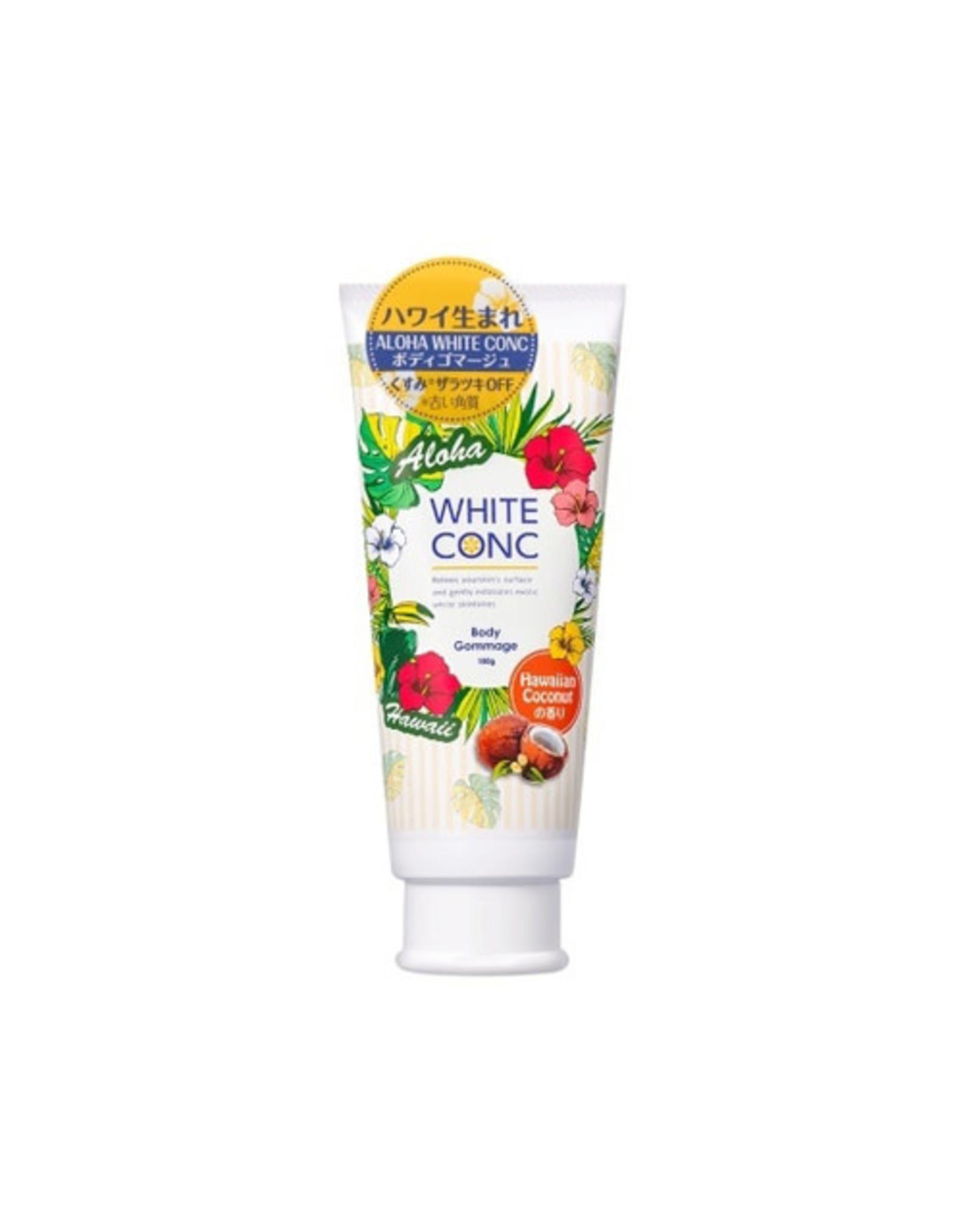 White Conc White Conc Body Scrub CII Hawaii Coconut - Limited