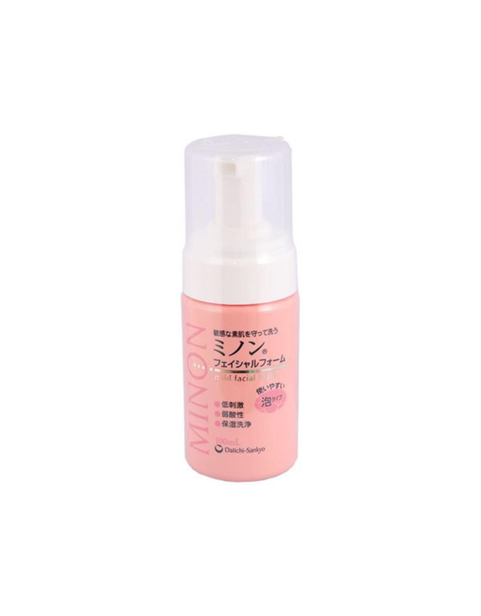 Minon Daiichi Sankyo Minon Mild Facial Washing Foam 100g