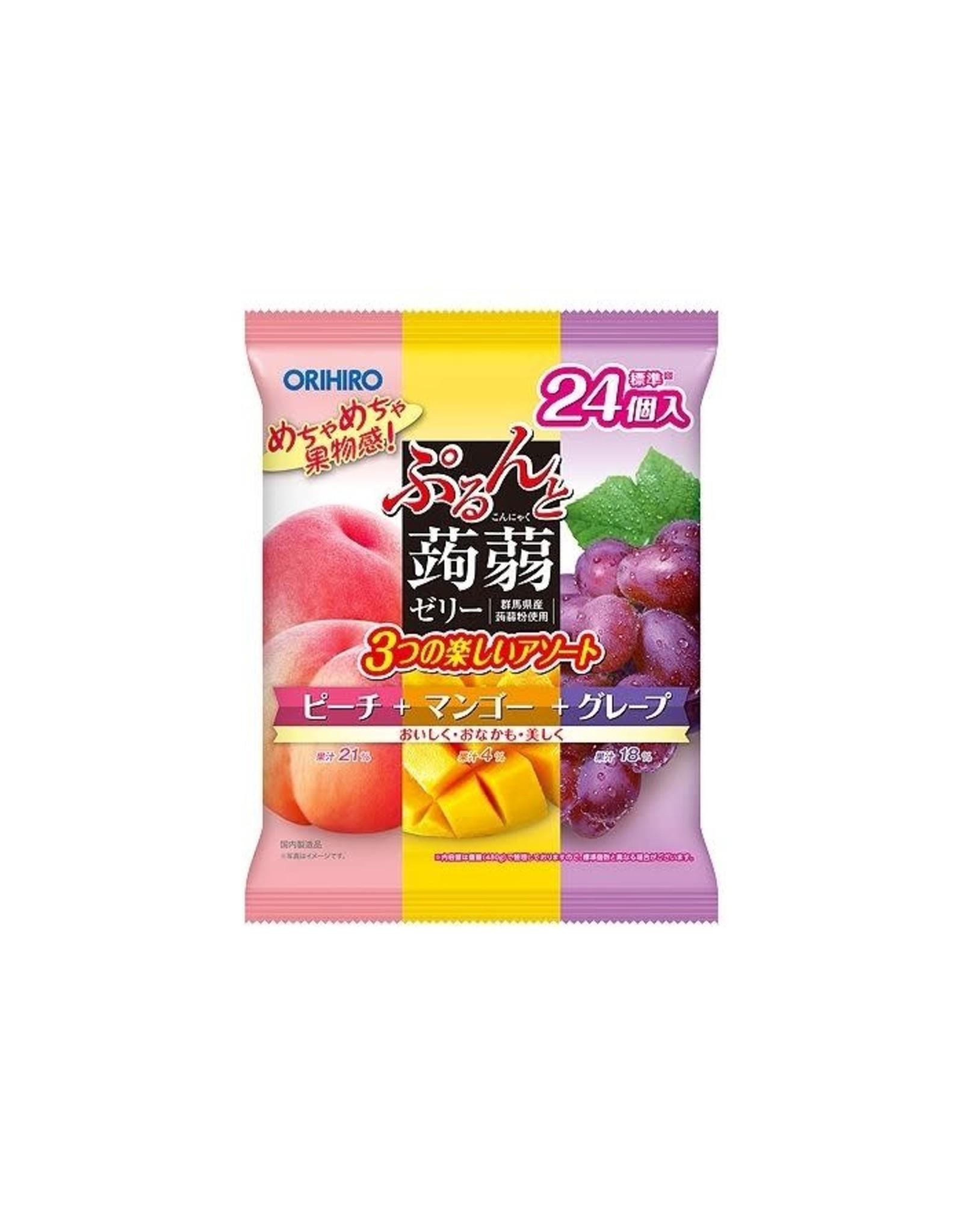 Orihiro Orihiro Jelly White Peach + Mango + Grape