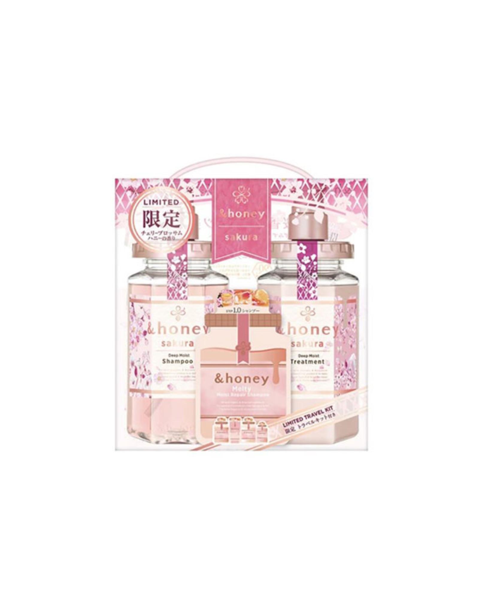 Vicrea Vicrea & Honey Deep Moist Sakura Limited Set