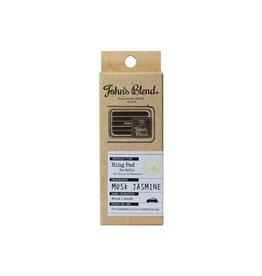 John's Blend John's Blend Clip-On Air Freshener Refill 2Pcs - Musk Jasmine