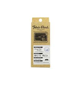 John's Blend John's Blend Clip-On Air Freshener Refill 2Pcs - White Musk