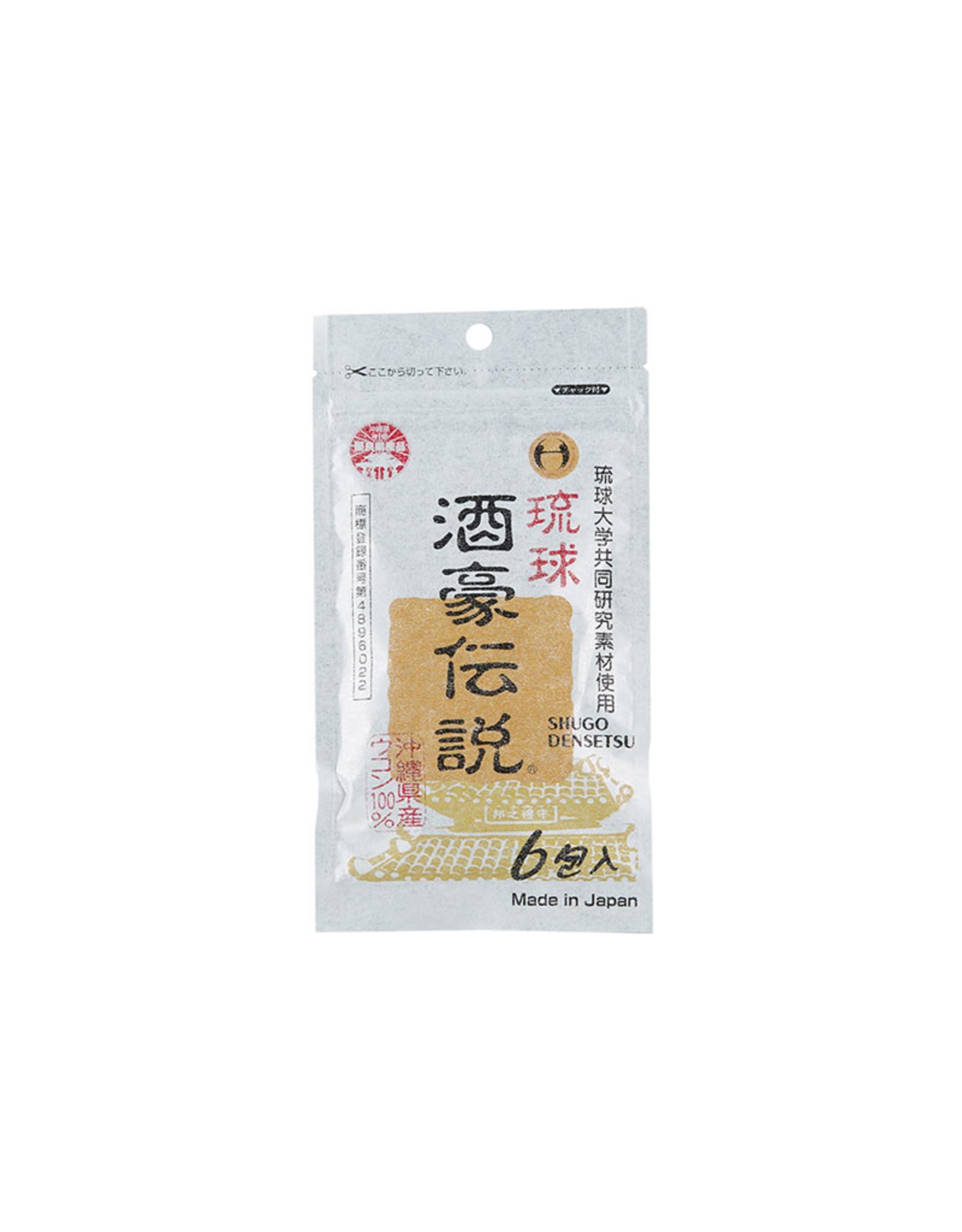 Shugo Densetsu Turmeric Tablet 6 Packs