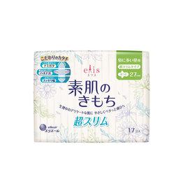 Elleair Elis Megami Sanitary Napkin Slim Very Heavy Daytime W/Wing 17P