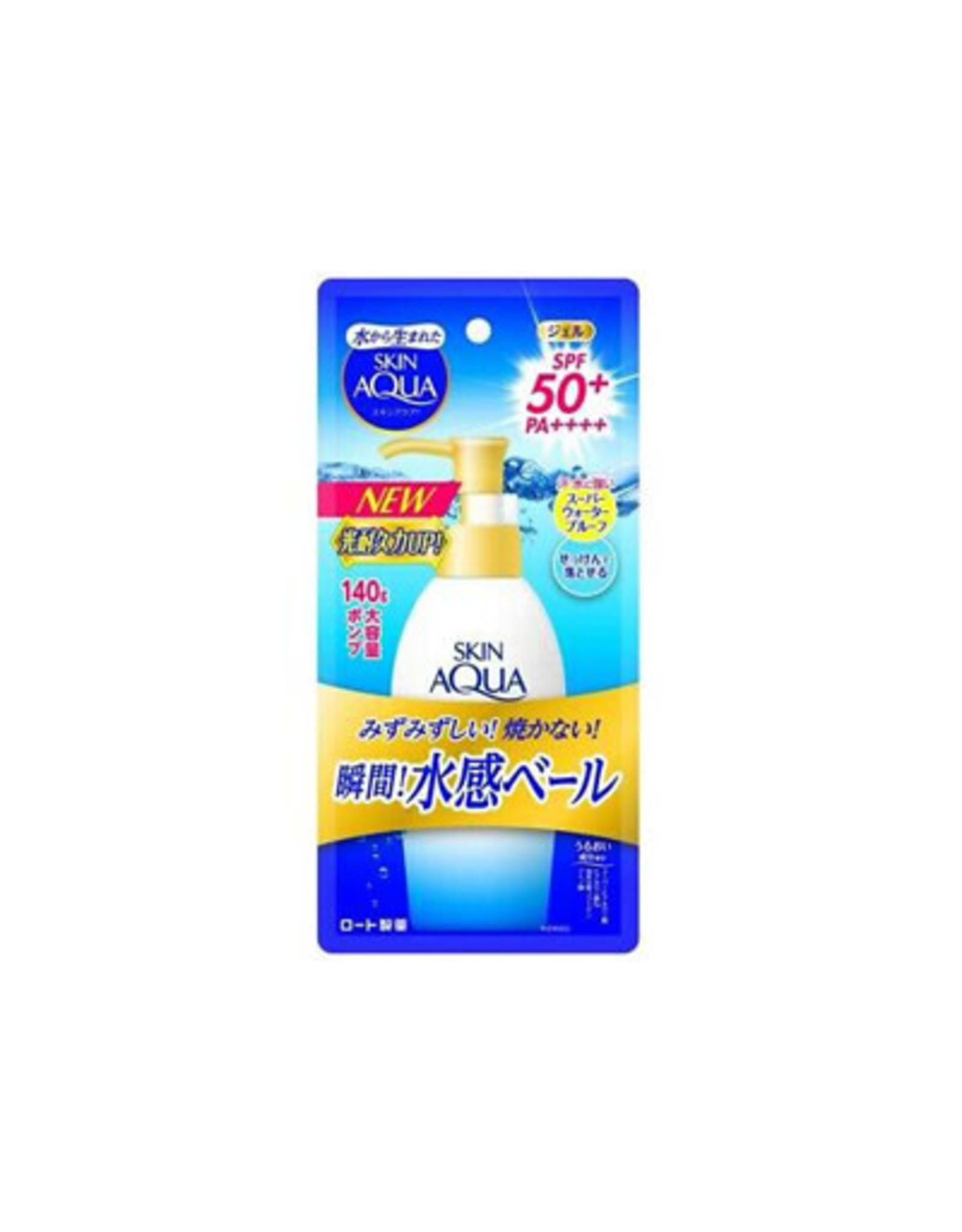 Rohto Rohto Skin Aqua Super Moisture Gel Pump Type SPF50+PA++++ 140g