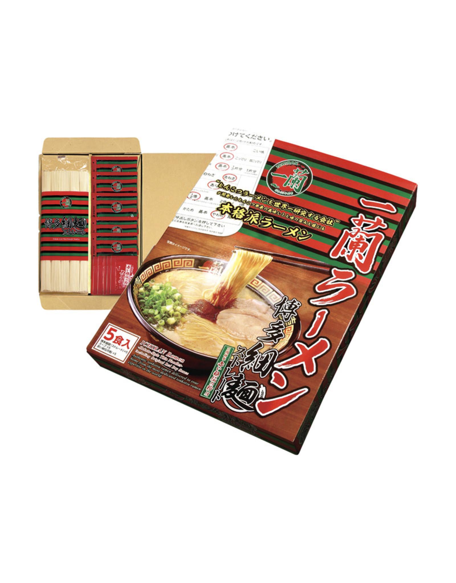 Ichiran Ramen Hakata-Style Thin Noddles (5 Pack)