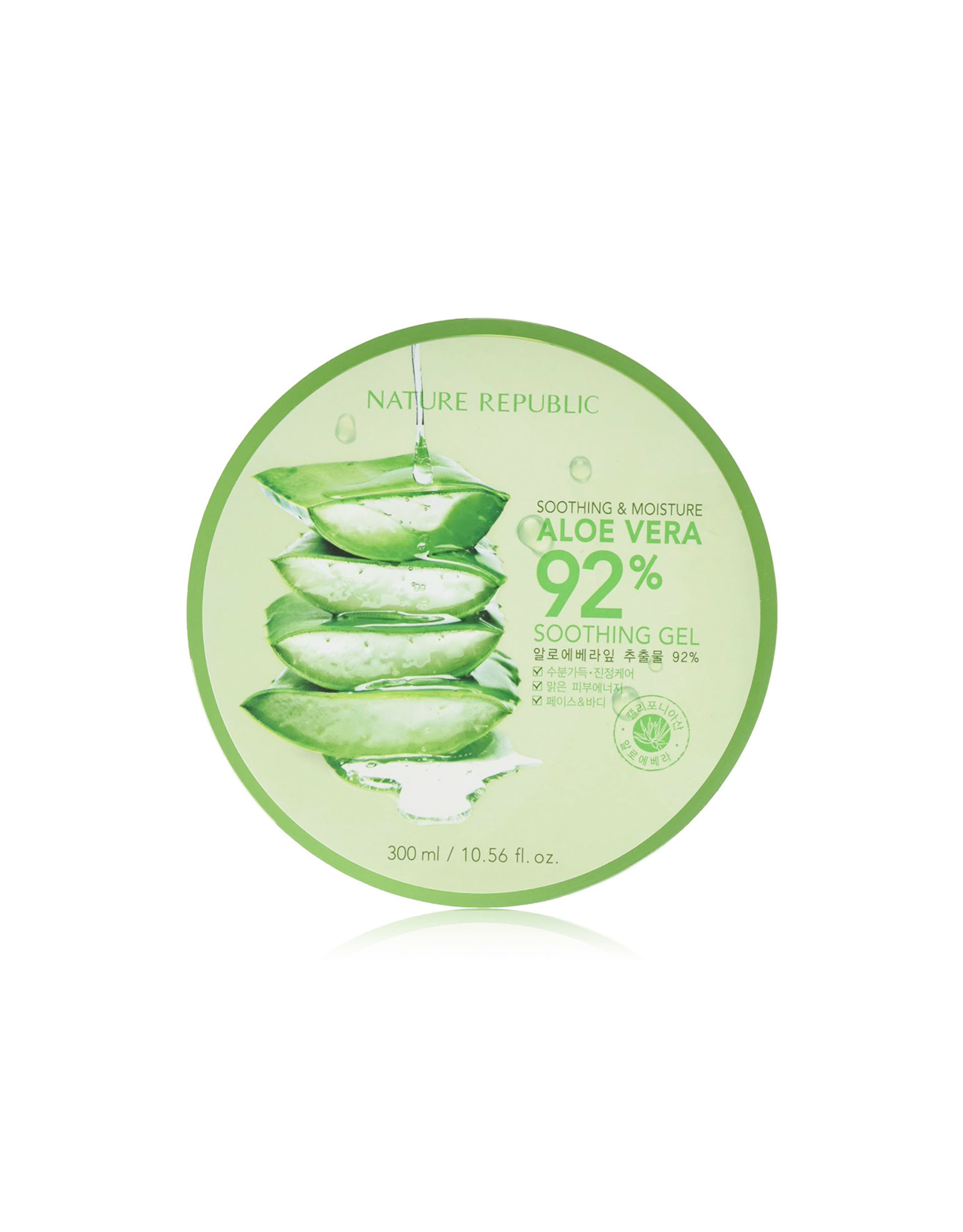 Nature Republic Nature Republic Soothing & Moisture 92% Aloe Vera Gel 300ml