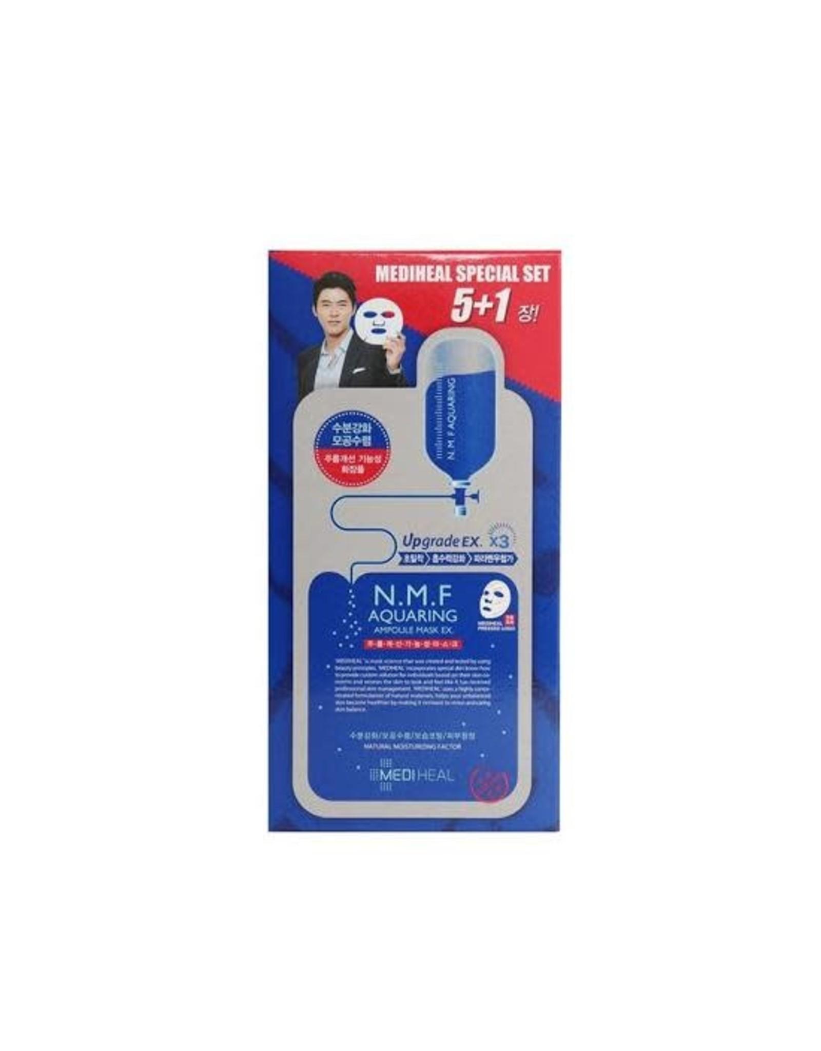 Mediheal Mediheal N.M.F Aquaring Ampoule Mask Limited Edition 5+1