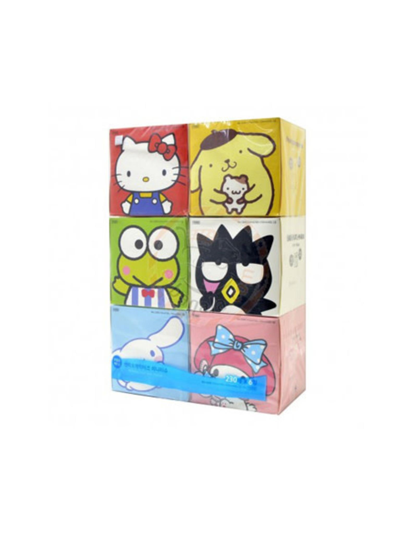 Hello Kitty &  Friends Mini Facial Tissue 230 Sheets
