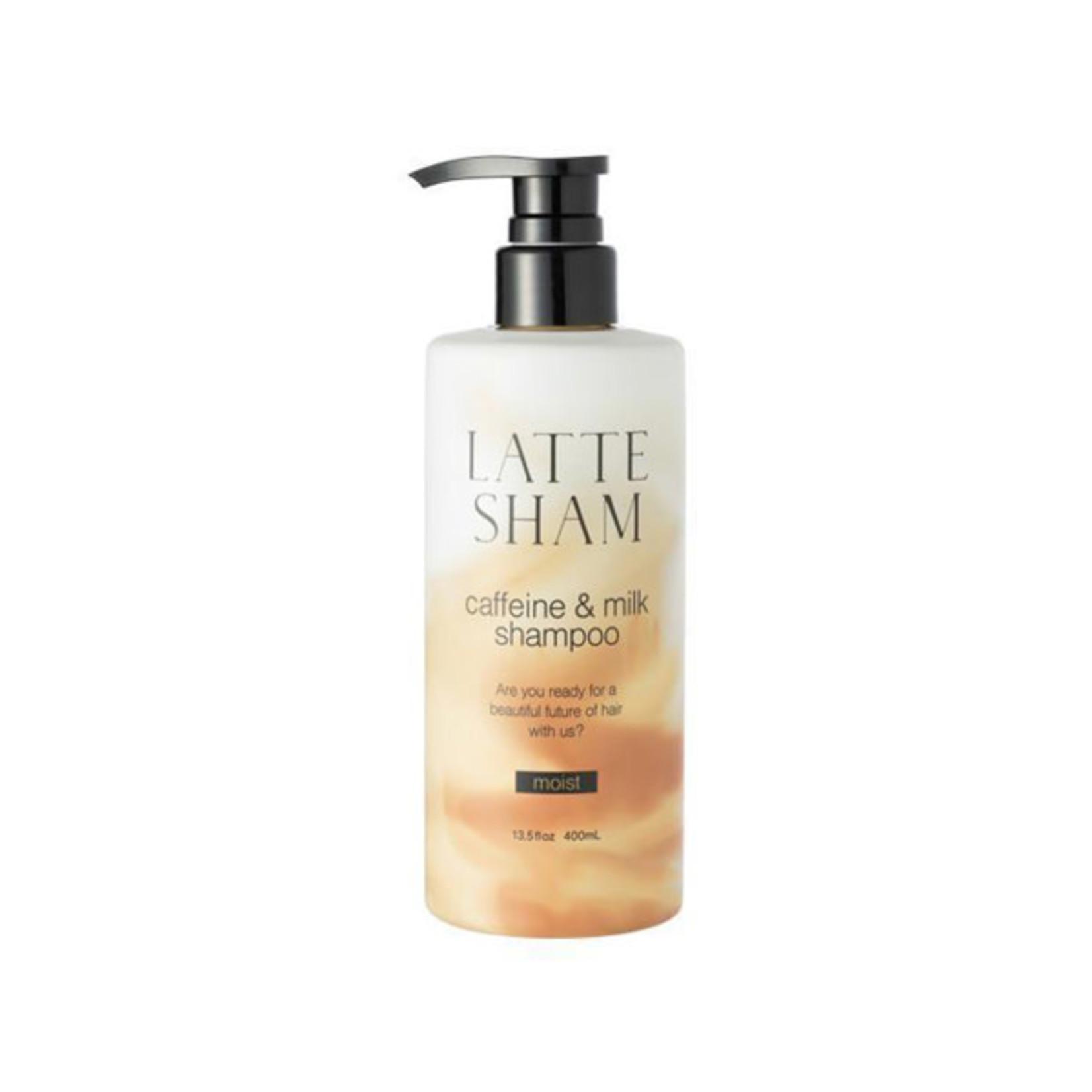 Latte Sham Moist Shampoo 400ml