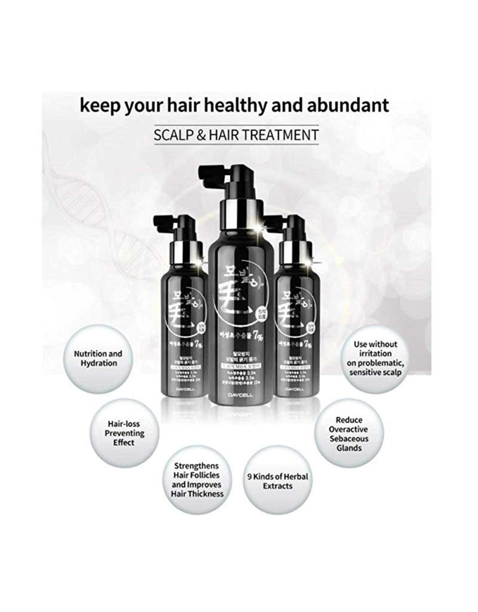 Daycell Daycell MBA Scalp & Hair Treatment Tonic 150ml Anti Hair Loss