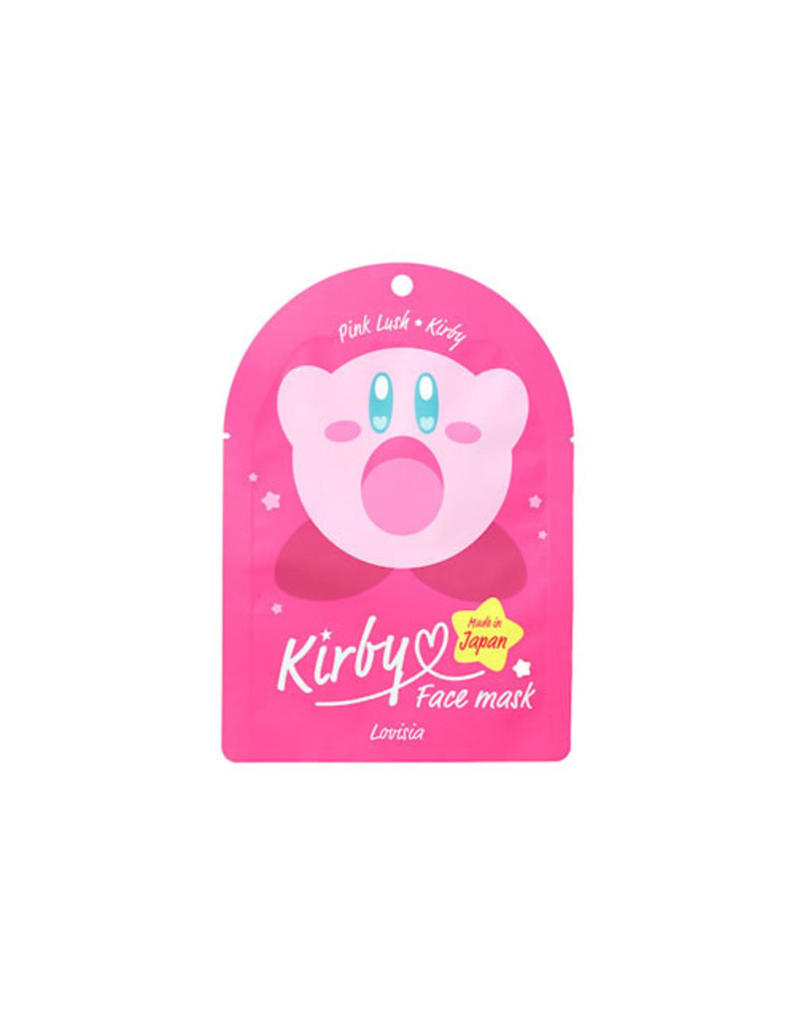 Kirby Face Mask Pink Lush 1 Sheet