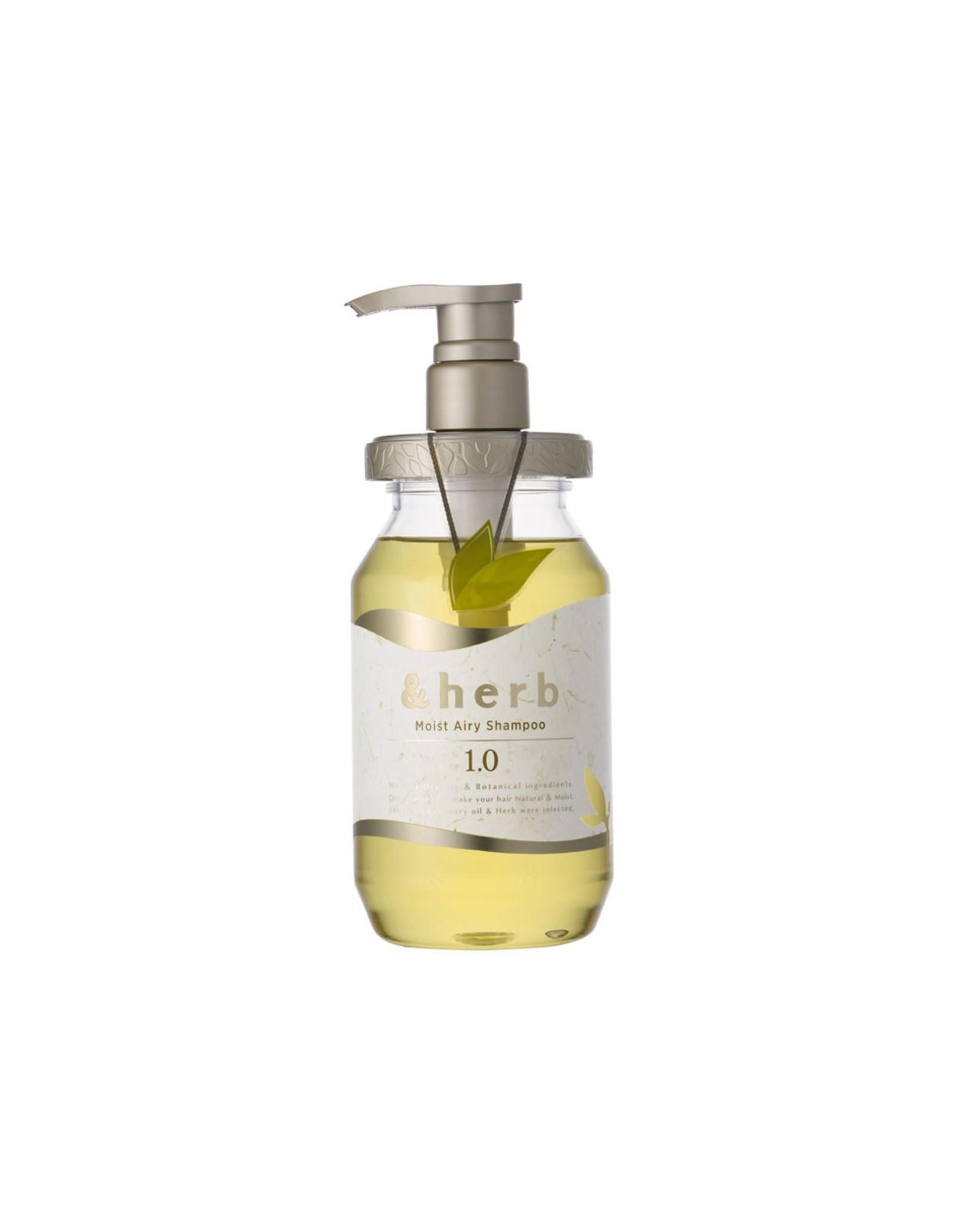 Vicrea Herb Moist Airy Shampoo 1.0 480ml