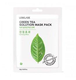 Lebelage Lebelage Natural Mask Green Tea
