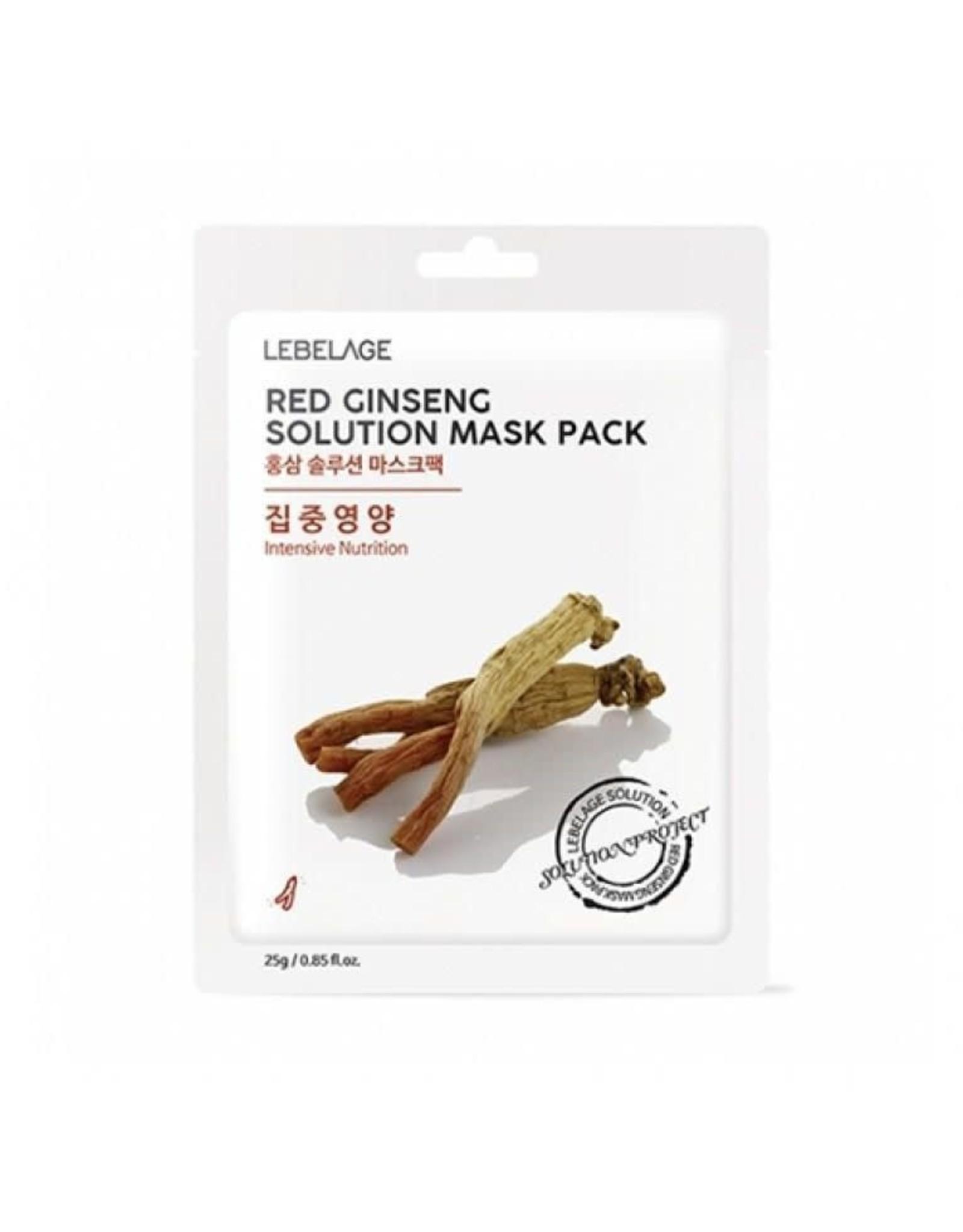 Lebelage Lebelage Natural Red Ginseng Mask