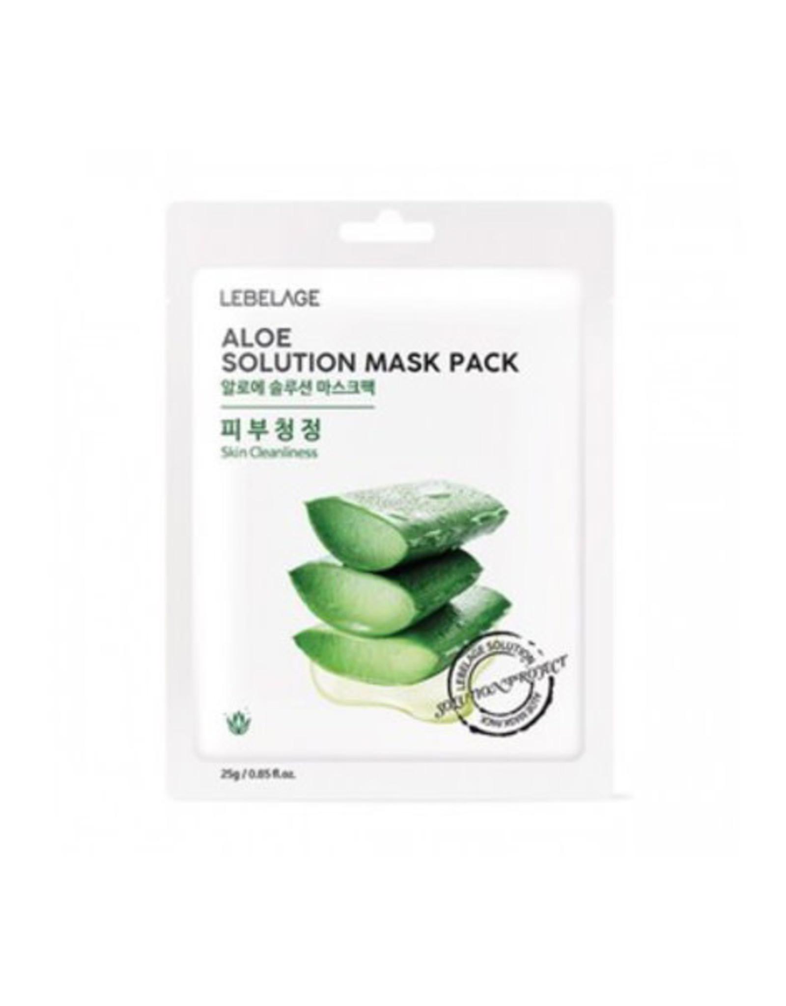 Lebelage Lebelage Natural Aloe Mask